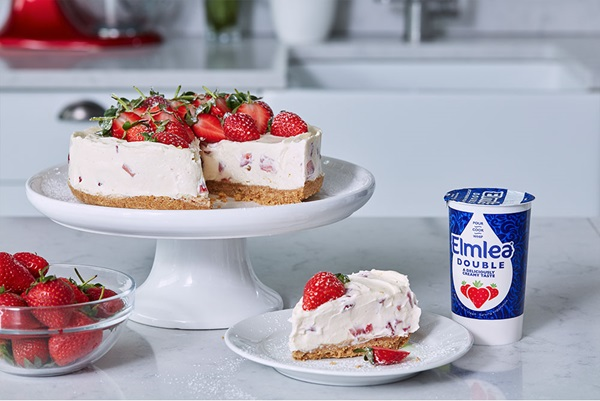 recipe image JUDY MURRAY'S NO BAKE STRAWBERRY CHEESECAKE