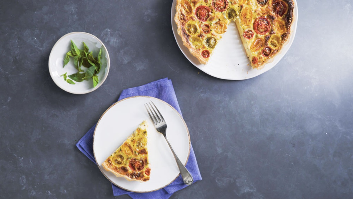 recipe image TOMATO QUICHE