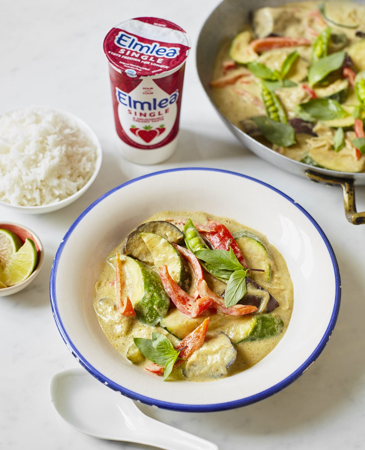 recipe image VEGETABLE THAI GREEN CURRY