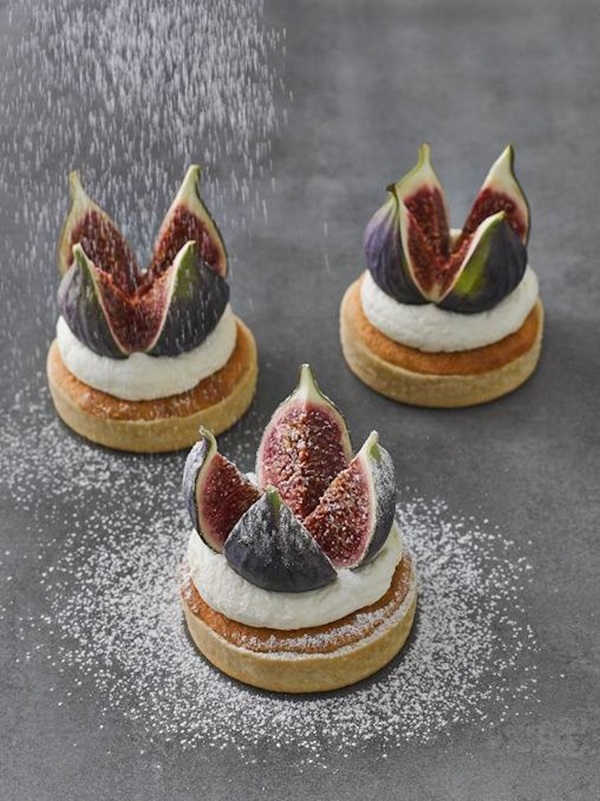 recipe image Vanilla and Fig Tarlets
