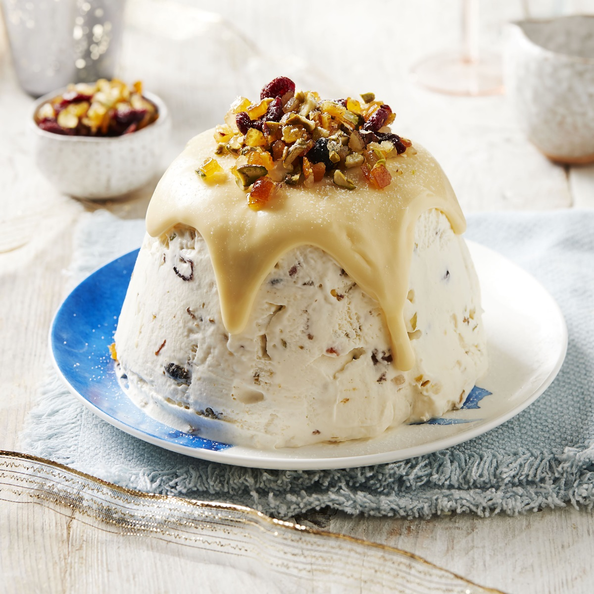 recipe image Christmas Pudding Semifreddo