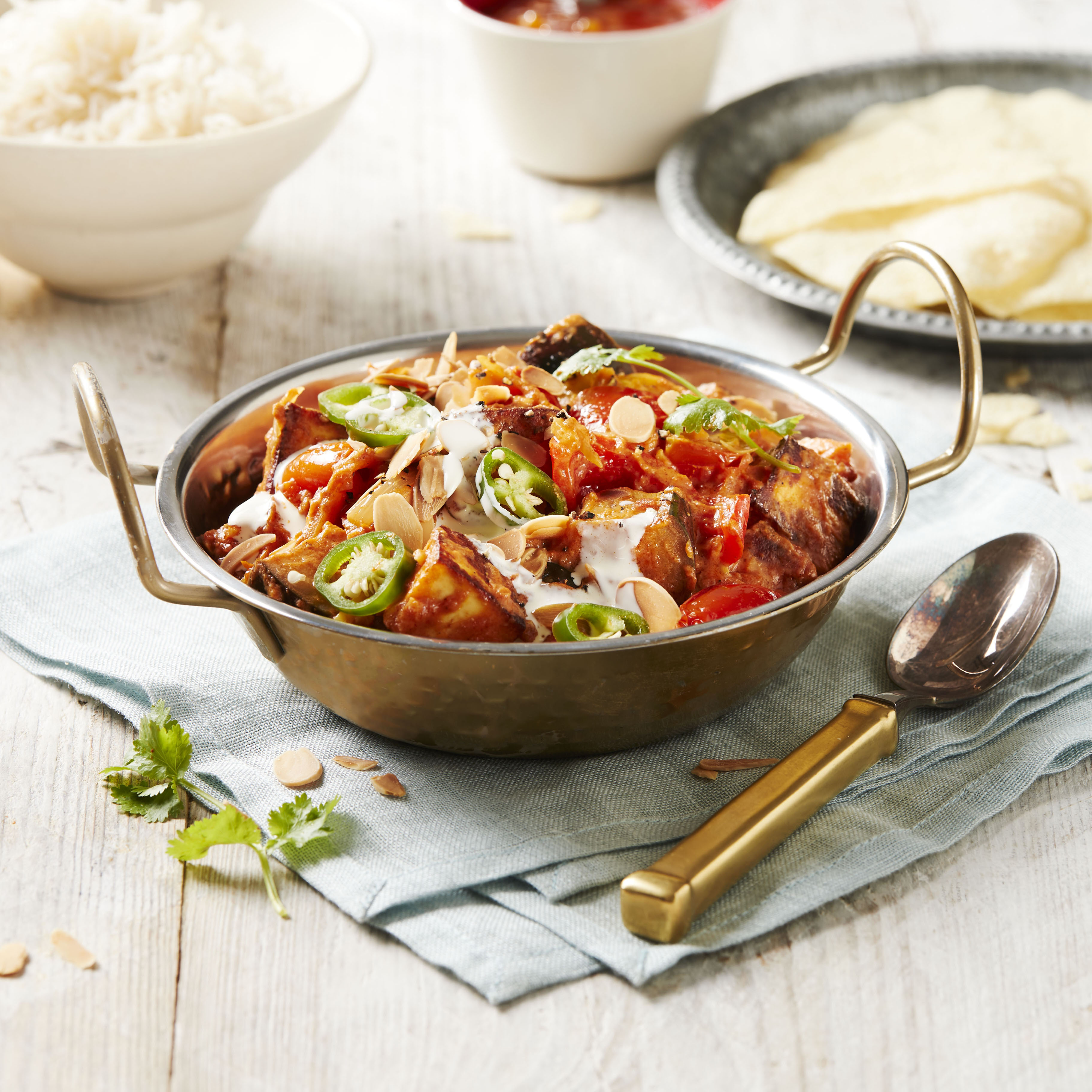 recipe image Creamy Tomato and Paneer Curry