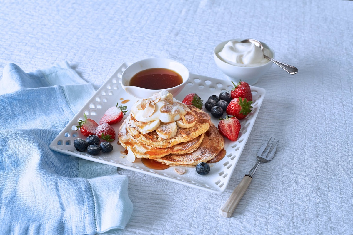 recipe image Vegan Pancakes with cinnamon and nutmeg