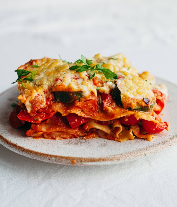 recipe image Roasted Vegetable Lasagne